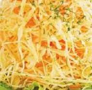 Салат из свежей белокочанной капусты
