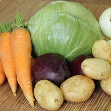 Сохранить овощи