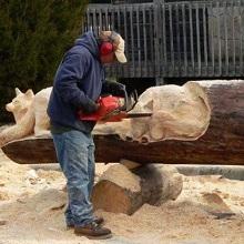Изготовление скульптур из дерева
