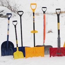 Лопата для очистки снега