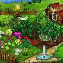Маленький садовый участок