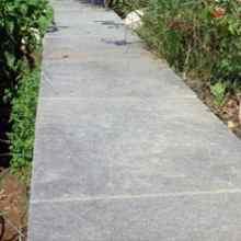 Садовые дорожки с твердым покрытием фото