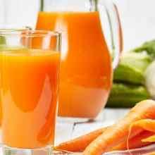 Польза морковного сока для организма