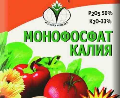 Подкормка томатов монофосфатом калия