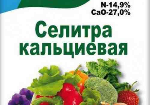 Удобрение помидор кальциевой селитрой